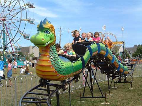small dragon roller coaster for sale