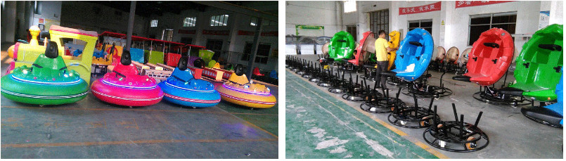 spin zone bumper car In beston factory