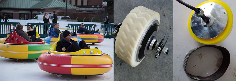 spin zone bumper car on ice for sale