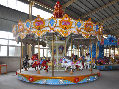 16 seats carousel ride manufacturer and supplier