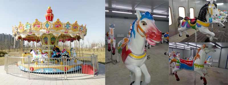 merry go round ride supplier