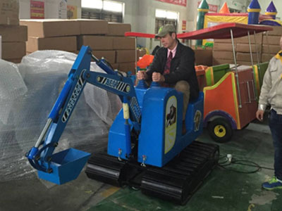Kid excavator rides for sale 07