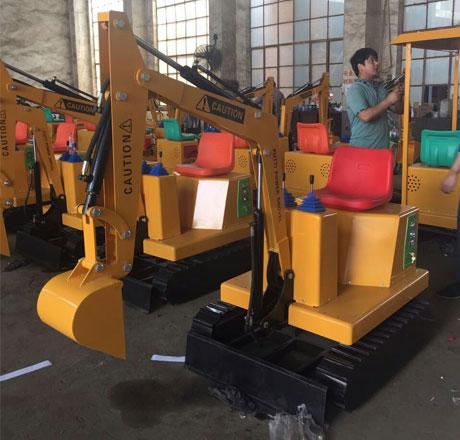kids excavator rides for sale