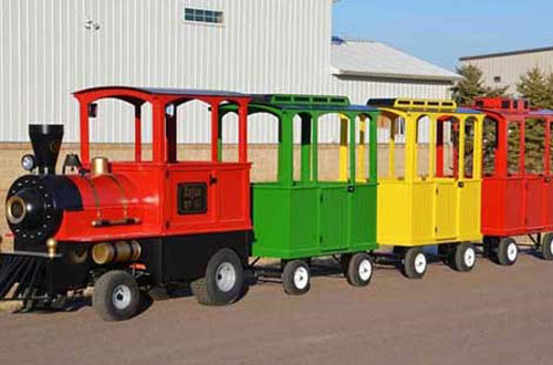 vintage trackless train for salevintage trackless train for sale