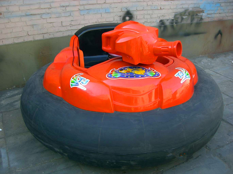 inflatable bumper car with gun 01
