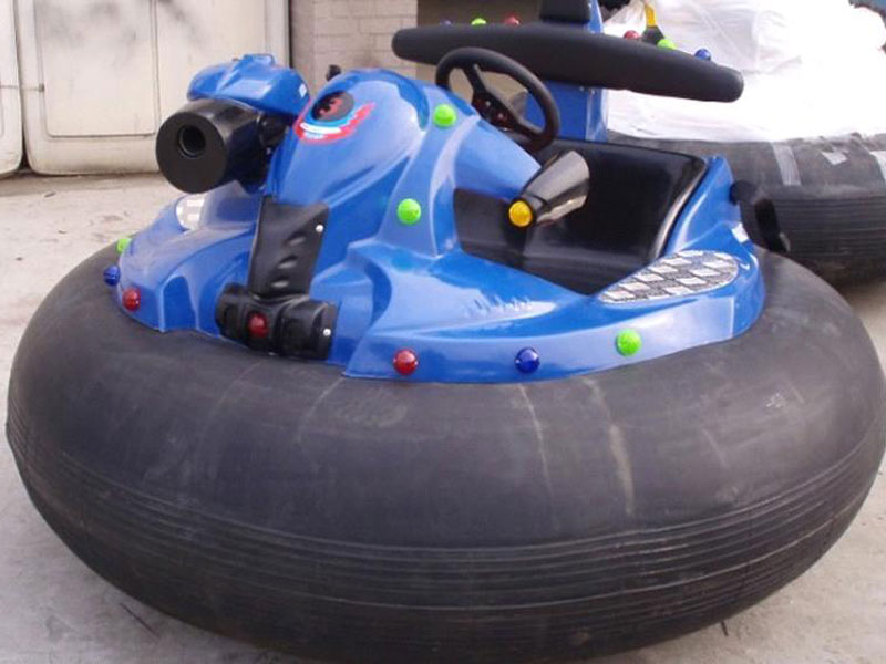 inflatable bumper car with gun 06