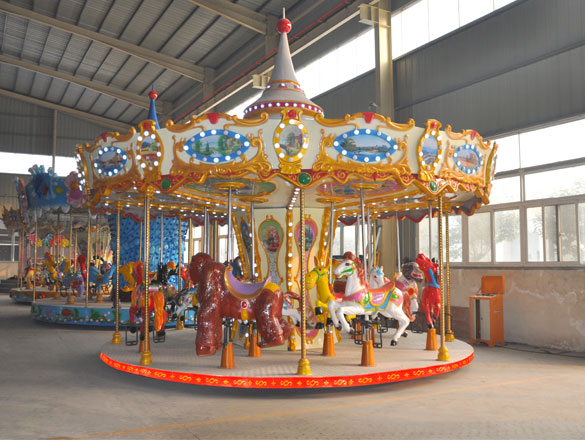 16 Seats Carousel Ride For Sale 04