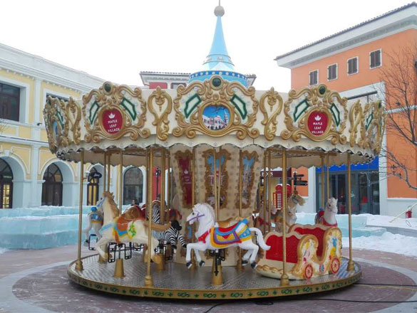 16 Seats Carousel Ride For Sale 06