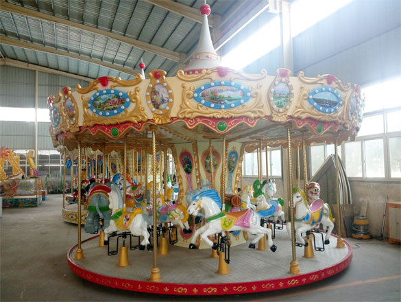 16 Seats Carousel Ride For Sale 07