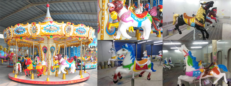16 Seats Carousel Ride For Sale 08