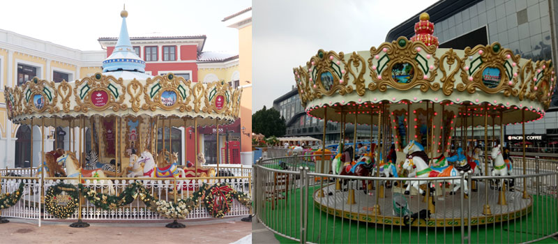 16 Seats Carousel Ride Manufacturer For Sale 03