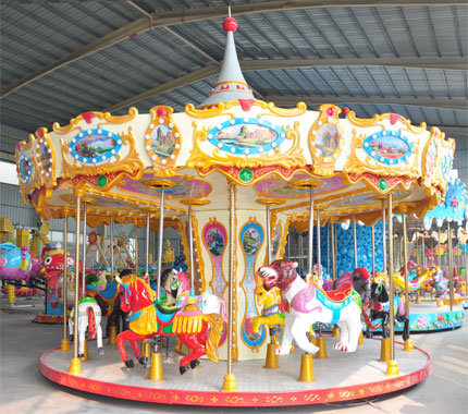 16 Seats Carousel Ride manufacturer 06