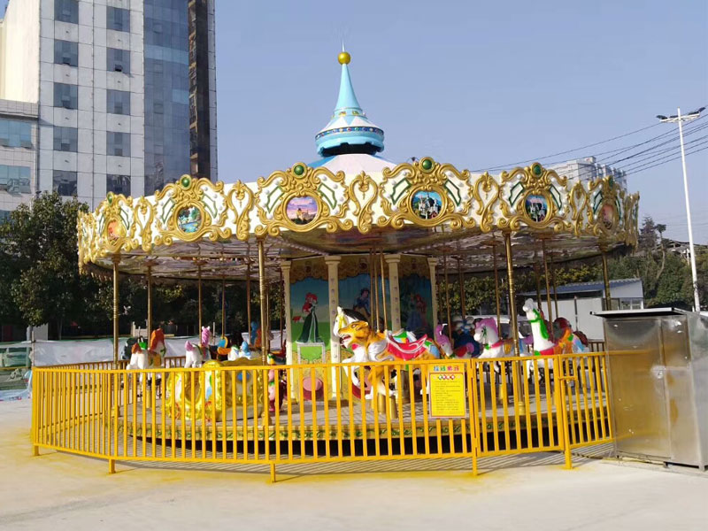 24 seat luxury carousel ride for sale 01
