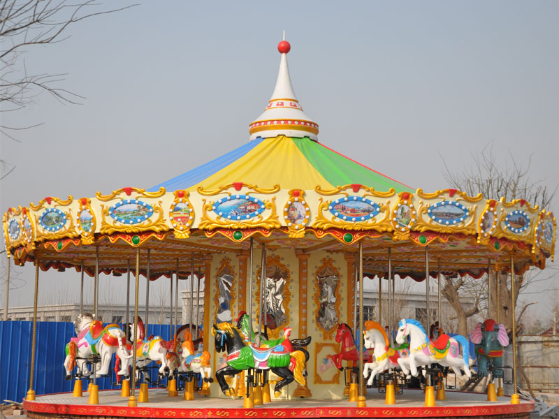 24 seat luxury carousel ride for sale 02