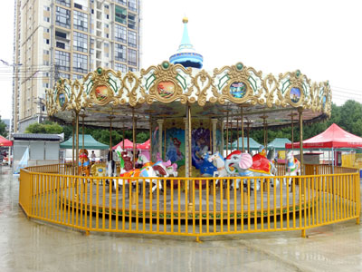 24 seat luxury carousel ride for sale 03