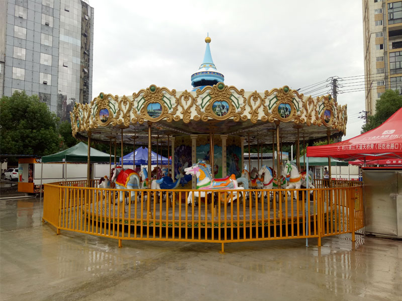 24 seat luxury carousel ride for sale 04