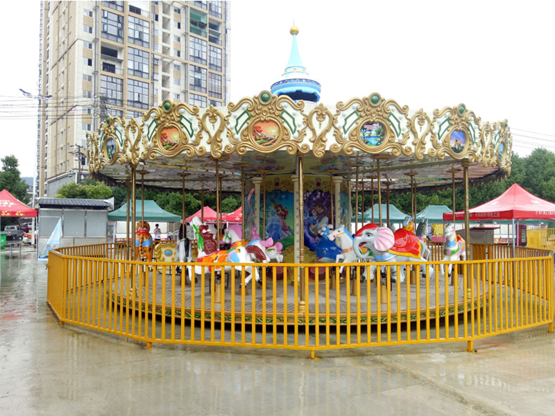 24 seat luxury carousel ride for sale 05