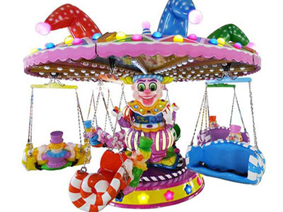 Clown Flying Chair Ride manufacturer and supplier