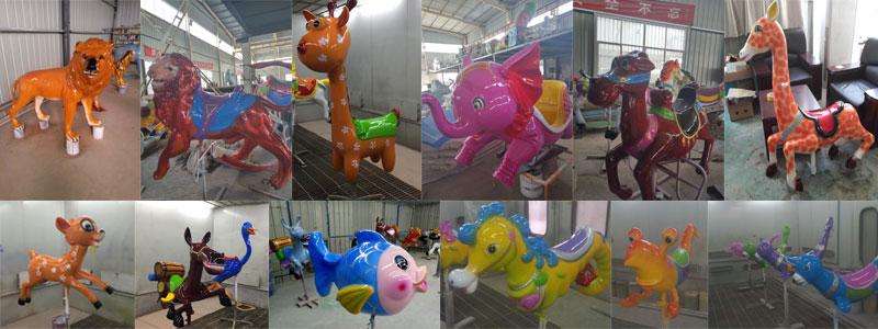 carousel animal model for sale