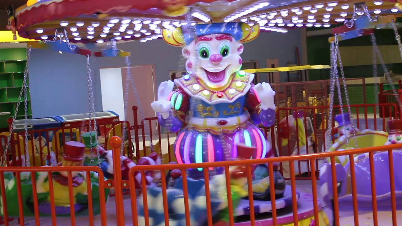 clown flying chair ride for sale 03