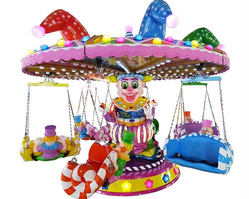 clown flying chair ride for sale