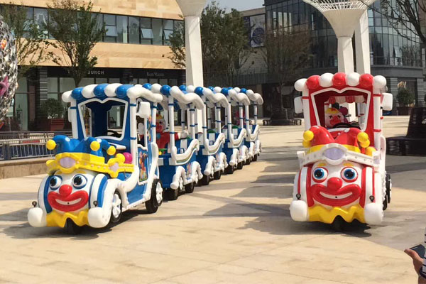 Clown track train ride for sale 02