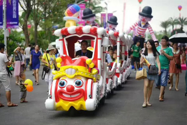Clown track train ride for sale