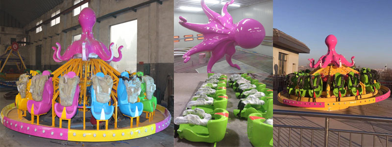 Flying octopus ride for sale