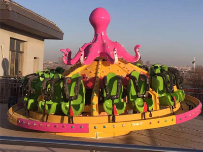 Flying octopus ride manufacturer