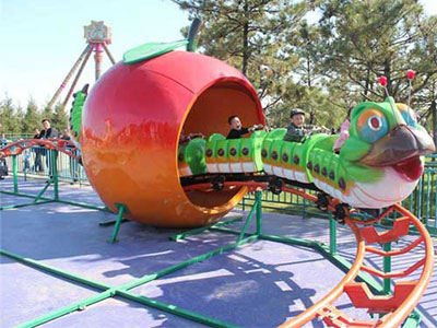 Fruit worm roller coaster for sale 04