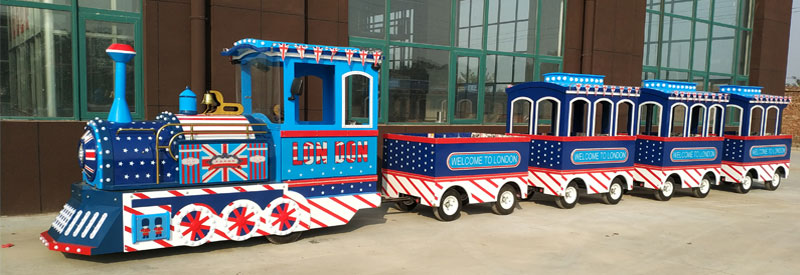 London trackless train ride supplier