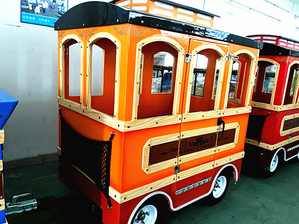 Royal trackless train ride for sale 01