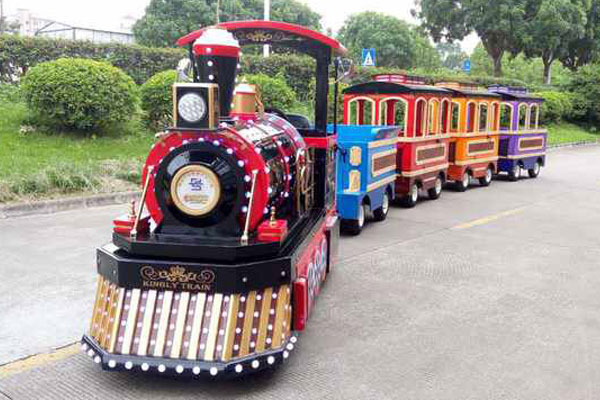 Royal trackless train ride for sale 03