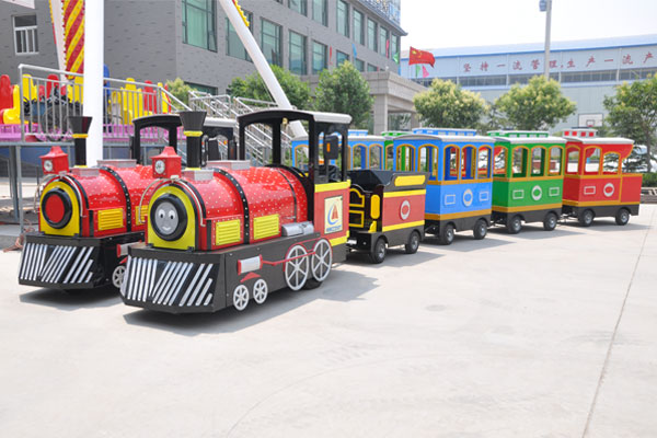 Smile trackless train ride for sale 01