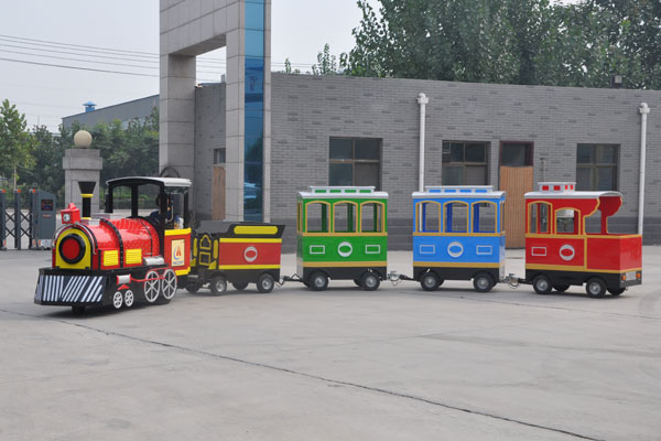 Smile trackless train ride for sale 03