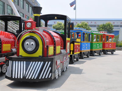 Smile trackless train ride for sale 05