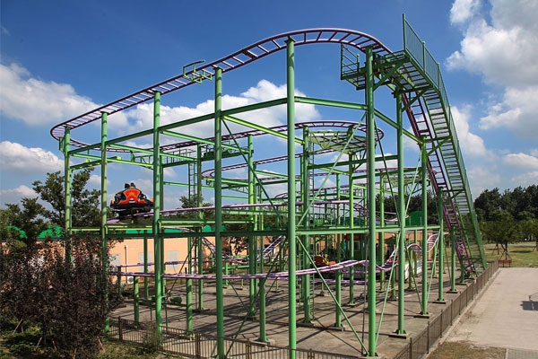 Spin roller coaster ride for sale