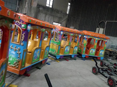 cheap kid track train ride for sale 02