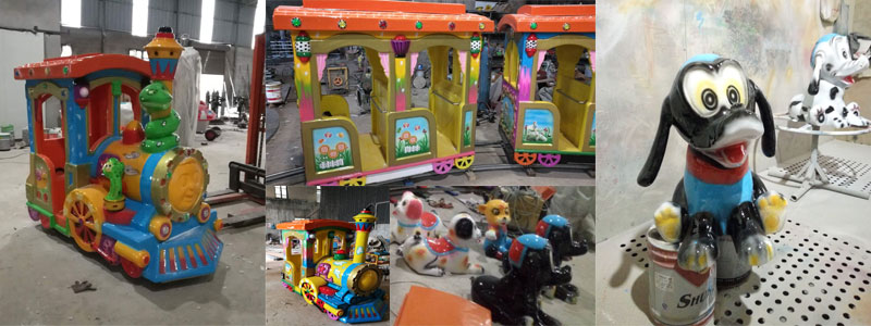 cheap kid track train ride manufacturer