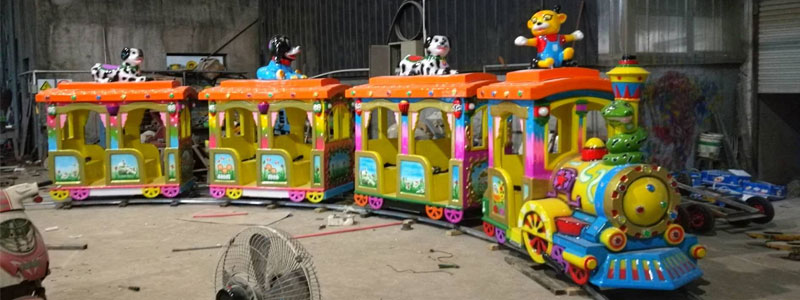 cheap kid track train ride manufacturer and supplier