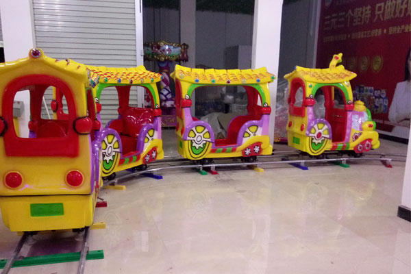kid cartoon track train ride for sale 01