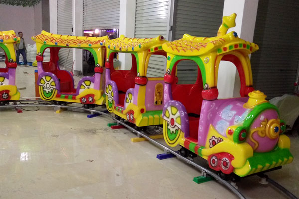 kid cartoon track train ride for sale 02