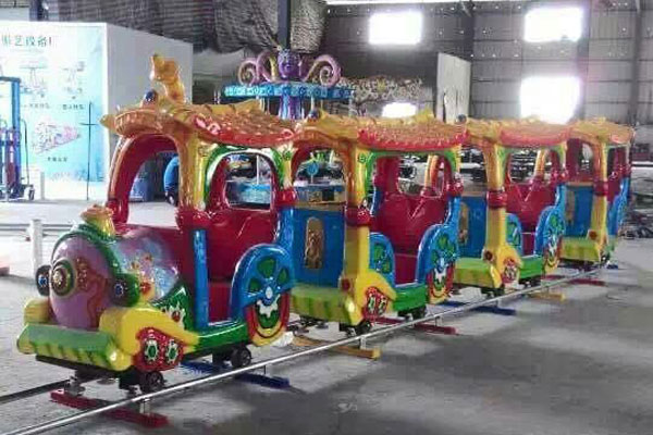 kid cartoon track train ride for sale 03