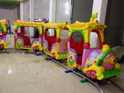 kid cartoon track train ride for sale 05