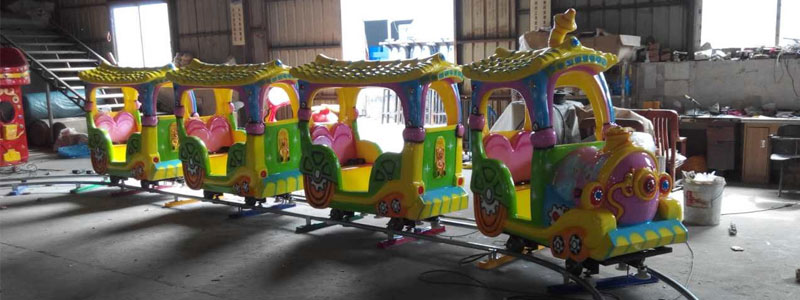 kid cartoon track train ride manufacturer
