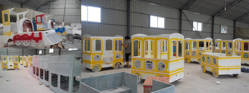 royal trackless train manufacturer