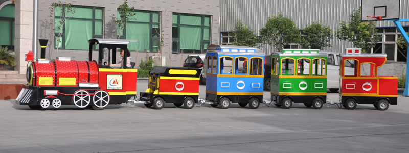 smile trackless train ride manufacturer
