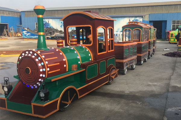 vintage trackless train ride for sale 02