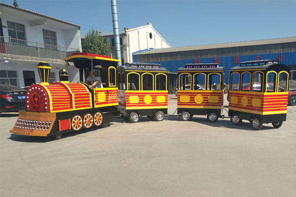 vintage trackless train ride for sale 03