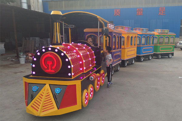 vintage trackless train ride for sale 04